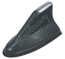 67561cb SHARK krytka antény - náhrada prutu, barva karbonová