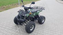 56155 Elektro čtyřkolka ATV s homologací 40 km/h. 1200W 60V/20Ah maskáč, tažné zařízení