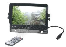 "sv92dvr Monitor 9"" se 5x4PIN vstup, DVR"