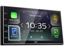 "KW-M741BT JVC 2DIN autorádio/6,8"" displej/USB/AUX/Bluetooth/Apple CarPlay / Android Auto"