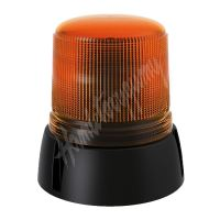 Oranžový maják s 3-bodovým úchytem, vysoký podstavec, 15 LED B18-TB3B-A