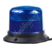911-E30mblu PROFI LED maják 12-24V 10x3W modrý magnet ECE R10 121x90mm