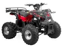 56150 Elektro čtyřkolka ATV 40 km/h. 1200W 60V/20Ah cervena, tažné zařízení