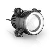 drlfp90 x LED potkávací světla/denní svícení/poziční světla, kulatá světla 93,5 mm, ECE R1