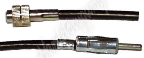 66029 HIRSCHMANN samice-DIN samec, kabel 15 cm