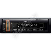 KD-X361BT JVC autorádio bez mechaniky/Bluetooth/USB/AUX/volitelnou barvou podsvícení tlačí