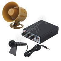 SI-735 Hobby zvukový systém 15W (35 variant zvuků zvířat a sirén + mikrofon)