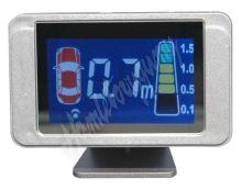 ps8lcd Parkovací systém s LCD displejem, 8 senzorů
