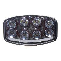 PZ70 LED světlo s pozičním světlem oválné, 8x8W, 210x140mm, ECE R7/R10/R112