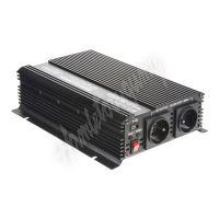 351624 Měnič napětí z 24/230V + USB, 1600W