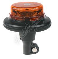 wl140hr LED maják, 12-24V, 12x3W oranžový na držák, ECE R65