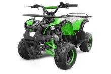Dětská čtyřtaktní čtyřkolka ATV Hummer RS 125ccm zelená 1 rych. poloautomat 7