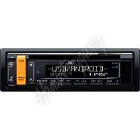 KD-R491 JVC autorádio s CD/MP3/USB/AUX/volitelnou barvou podsvícení tlačítka/odním.panel