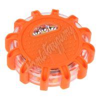 wl-h01oraAAA LED výstražné světlo 12 + 3LED na 3x baterii AAA, oranžové