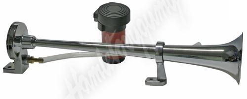 sn-119/12V Singl-fanfára 450mm, 12V stálý tón s kompresorem
