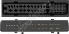sot-906/bose Kabeláž pro HF PARROT/OEM Audi A6 MMI s aktivním systémem BOSE (stříbrný zesi