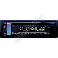 KD-R889bt JVC autorádio s CD/MP3/USB/AUX/Bluetooth připojení/bílé podsvícení/odním.panel