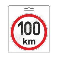 Samolepka omezená rychlost 100km/h (150 mm) TIR