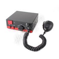 Výstražná siréna s mikrofonem, 11Ohm, 100W, SIR-1105