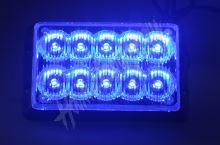 kf010E1Wblu PREDATOR dual 10x1W LED, 12-24V, modrý, CE