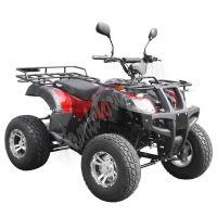 59399 Elektro čtyřkolka ATV s homologací 45 km/h. 2200W 72V/52Ah červená tažné zařízení