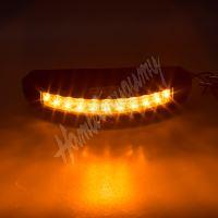 911-C9 PROFI výstražné LED světlo vnější, oranžové, 12-24V, ECE R65