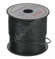 3100202 Kabel 1,5 mm, černý, 100 m bal