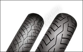 Bridgestone Battlax BT45 110/70 -17 + 130/70 -17 H