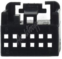 25055/5 MOST plast. pouzdro 25.055/4 černé