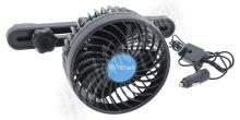 Ventilátor MITCHELL 12V na opěrku hlavy