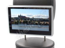 """ds-x11mpsilver SD/USB monitor 10,1"""" s držákem na opěrku, dotyk. obrazovka, české menu"""