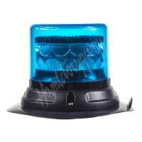 911-C24mblu PROFI LED maják 12-24V 24x3W modrý magnet 133x86mm, ECE R65