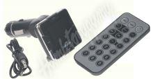 80549 MP3/FM modulátor bezdrátový s USB/SD/AUX vstupem do CL s dálkovým ovladačem