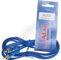 xs-2110 RCA audio kabel BLUE BASIC line, 1m