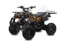 """Dětská čtyřtaktní čtyřkolka ATV Hummer RS 125ccm DELUXE maskáč zl 1rych. poloautomat 7""""kol"""