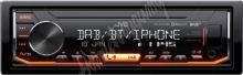 KD-X451DBT JVC DAB / FM autorádio bez mechaniky/Bluetooth/USB/AUX/odním.panel/multicolor