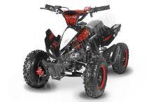 Dětská elektro čtyřkolka ATV Phyton Deluxe 1000W 36V červená