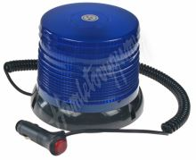 wl61blue LED maják, 12-24V, modrý magnet, homologace