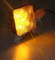 kf717ora Výstražné LED světlo vnější, oranžové, 12/24V