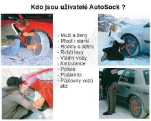 Textilní sněhové řetězy AutoSock pro TRUCK nákladní vozy velikost: AL59