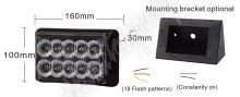 kf010E1W PREDATOR dual 10x1W LED, 12-24V, oranžový, CE