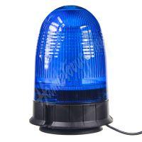 wl55blue x LED maják, 12-24V, modrý magnet, 80x SMD5050, ECE R10