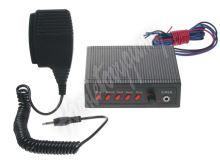 SI-058 Hobby výstražný systém se 5 přednastavenými tóny, 100W