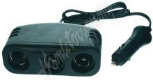 34504 trojitá CL zásuvka s kabelem 100cm a CL zástrčkou