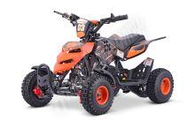 Dětská dvoutaktní čtyřkolka ATV Repti Nitro 49ccm oranžová