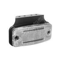 kf665wh Přední obrysové světlo LED, bílý obdélník, ECE R10