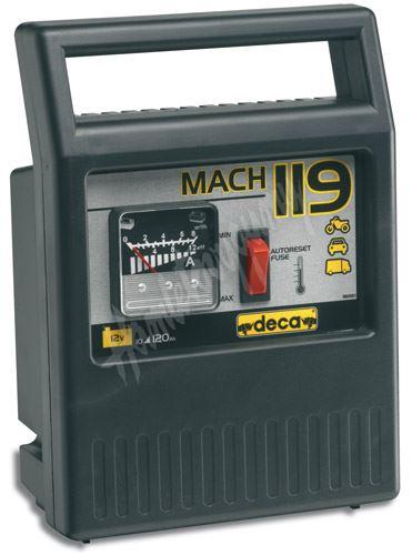 Nabíječka autobaterií Deca MACH 119 (12V 6A) o kapacitě 10 - 120 Ah