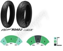 Michelin Pilot Road 2 120/70 ZR17 + 160/60 ZR17
