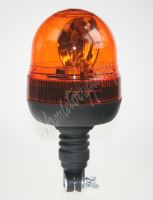 wl84hr LED maják, 12-24V, 16x3W, oranžový na držák, ECE R65