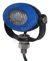 911-E33B PROFI LED výstražné světlo 12-24V 3x3W modrý ECE R10 92x65mm